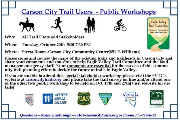 Trails Public Workshops