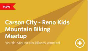 Carson City - Reno Kids Mountain Biking Meetup