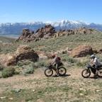 Bikepacking to Washoe Lake State Park