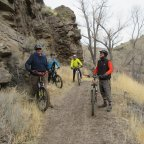 Riding the Carson River Canyon