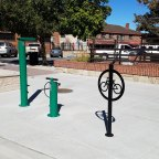 Downtown Bicycle Workstation
